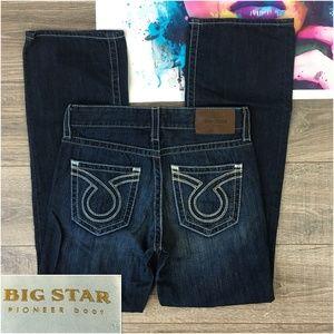 Big Star Pioneer Boot Mens Jeans 30x33 Dark
